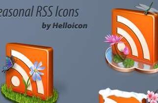 Paquete de iconos RSS