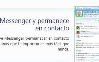 Descargar messenger live gratis