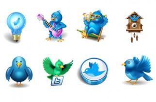 Descargar iconos de Twitter gratis