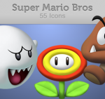 Descagar iconos de Mario Bros gratis