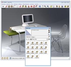 Descargar google sketchup para dise ar en 3d unusuario for Programa para disenar en 3d en espanol gratis