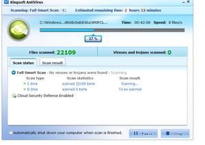 Descargar Kingsoft Antivirus gratis