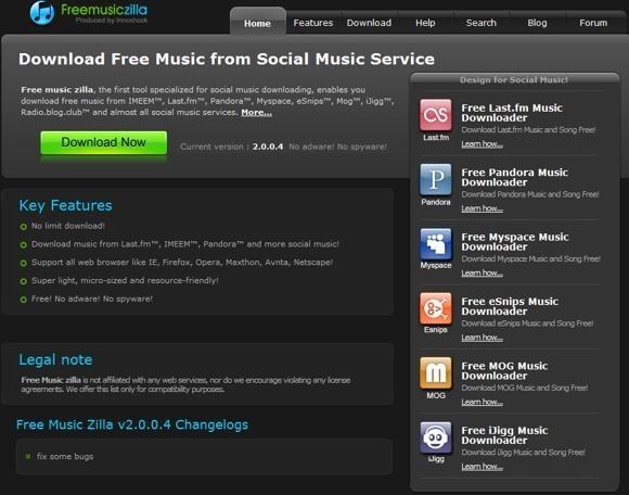 free-music-zilla