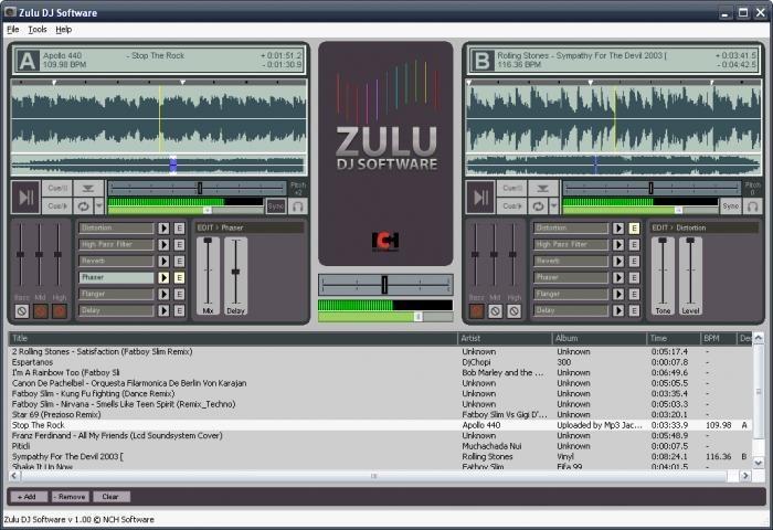 Programa para dj gratis zulu dj unusuario - Logiciel table de mixage dj gratuit francais ...