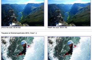 Google propone un nuevo formato para imágenes: WebP
