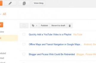 Blogger tendría un completo rediseño de interfaz