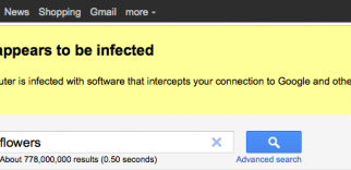 Ahora Google también nos avisa sí tenemos malware