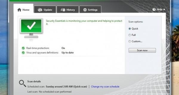 Windows 8 traerá Microsoft Security Essentials de fábrica