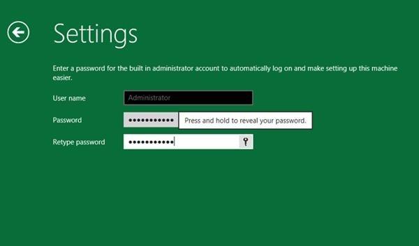 Windows 8 gestor de contraseñas