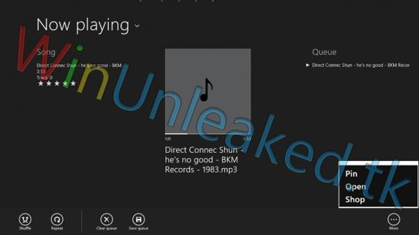 reproductor de musica windows 8