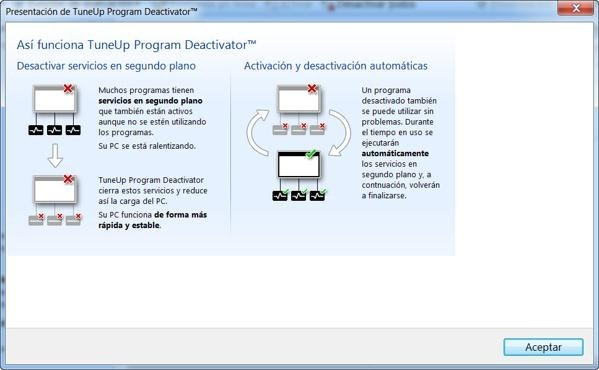 tuneup program deactivator
