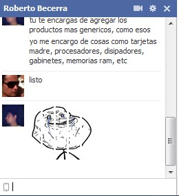 Facebook Chat Forever Alone