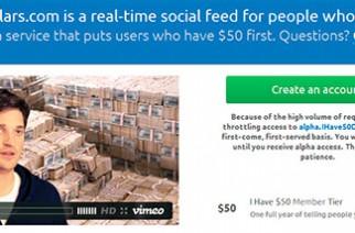 Ihave50dollars.com, una burla para la iniciativa App.net