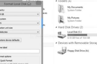 Windows 8.1 soportará el sistema de archivos ReFS