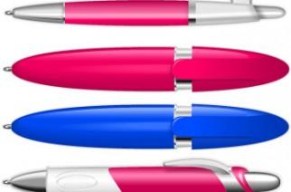 Bolígrafos y encendedores vectoriales