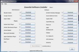 Instala 20 programas gratuitos para Windows con Essentials Software Installer