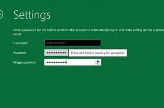 Windows 8 tendrá gestor de contraseñas