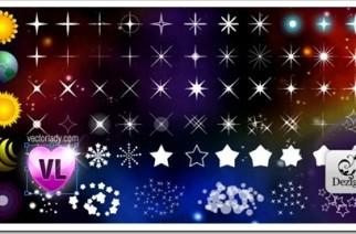 Pack de estrellas vectoriales.