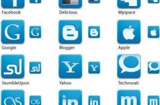 30 iconos sociales gratis