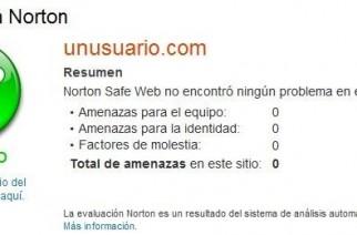 Analizar la seguridad de sitios web con Norton Safe Web