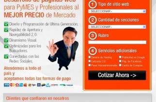 Programadorweb.info ofrece diseño web para Pymes y profesionales