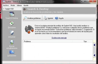 Spybot Search&Destroy – Completo antispyware
