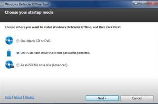 Windows Defender ofrece un sistema offline para CD o USB