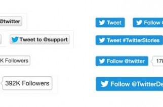 Nuevos botones oficiales de Twitter: Adiós a la API Share Count