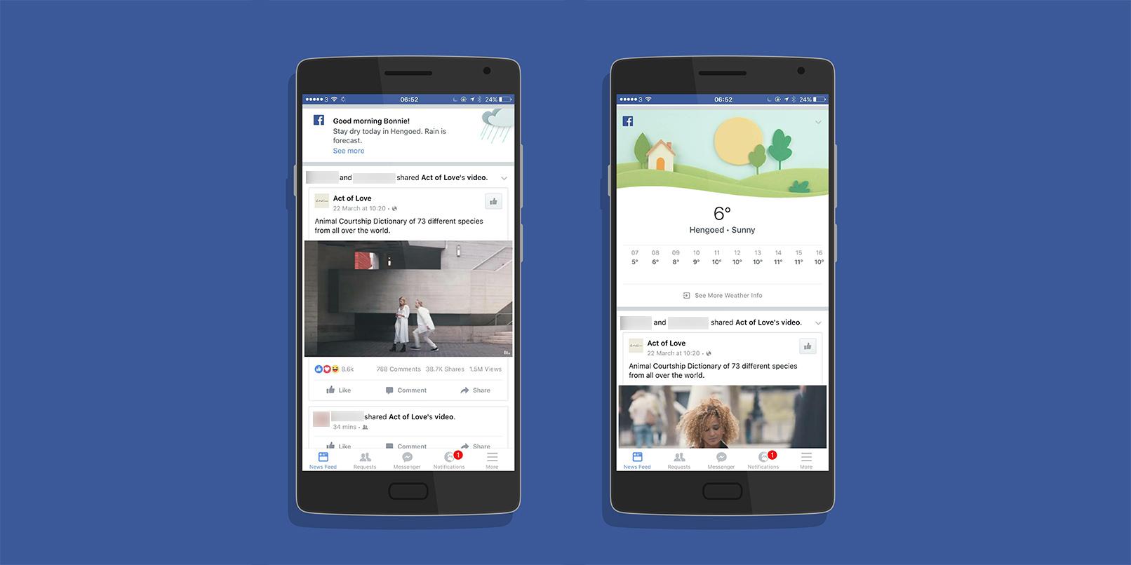 Facebook-Weather