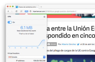 El navegador web Opera ofrece VPN gratuita e ilimitada