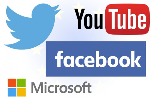 Gigantes tecnológicos eliminarán contenidos ofensivos en 24hs