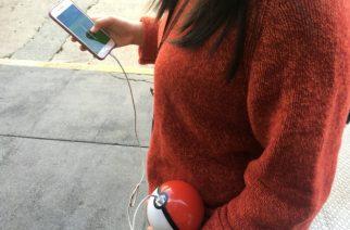 Batería con forma de Pokeball para jugar Pokemon GO
