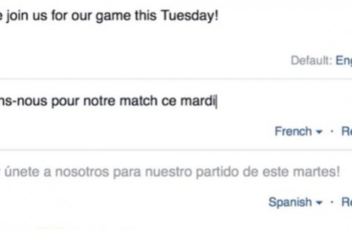 Facebook añade herramienta para crear post en distintos idiomas