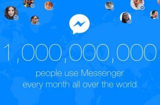 Messenger alcanza los 1.000 millones de usuarios activos