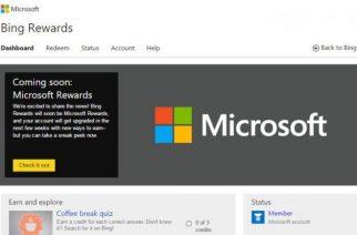 Microsoft Rewards – el nuevo sistema de recompensas de la compañía