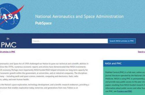 PubSpace – Acceso gratuito a las investigaciones patrocinadas por la NASA