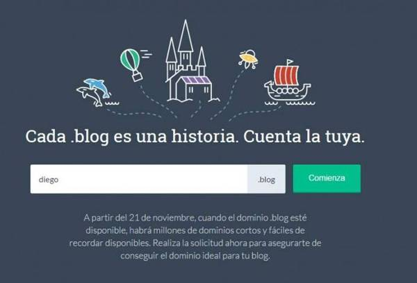 dominios blog WordPress