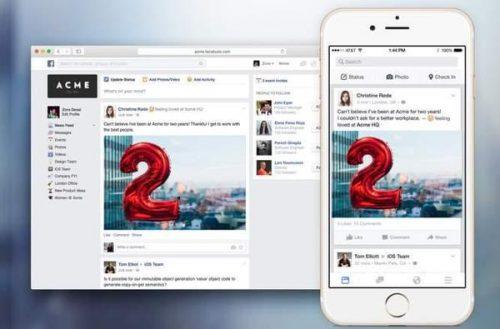 Facebook at Work – Cada negocio podría tener su propia red social