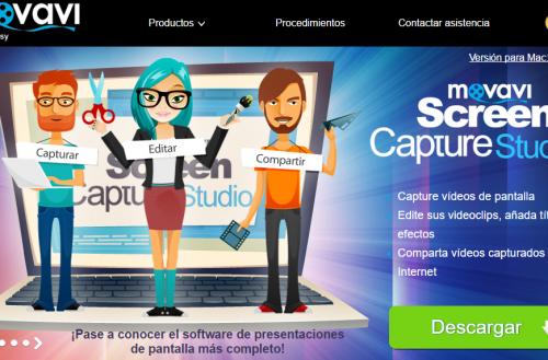 Movavi Screen Capture Studio: Completa suite para hacer capturas de pantalla y video