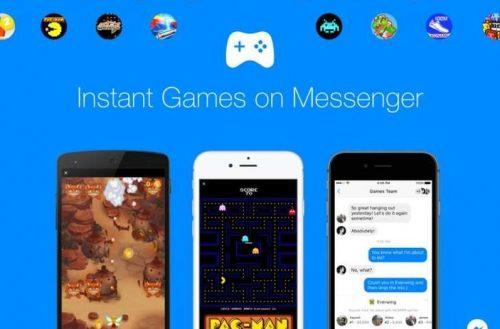 Instant Games llega a Facebook Messenger
