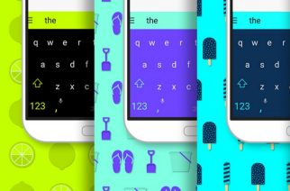 SwiftKey ofrece algunos temas para su teclado gratis