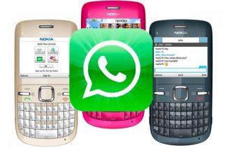 WhatsApp extiende por un año el soporte a BlackBerryOS, Nokia S40 y Symbian S60