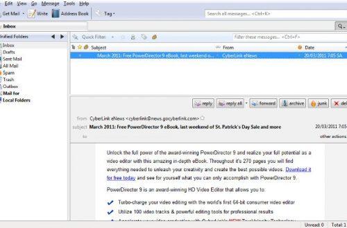 El gestor de correo electrónico Thunderbird al fin llega a la versión 52.0