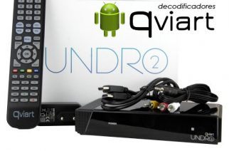 Qviart Undro 2 – Decodificador con Android 4.4