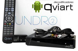 Qviart Undro 2 – Decodificador con Android 4.4