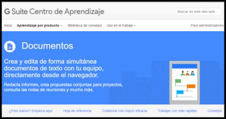 El Centro de aprendizaje G Suite: Guías completas de Google sobre sus G Apps