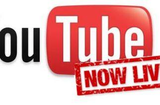 Ya todos pueden transmitir video en vivo por Youtube