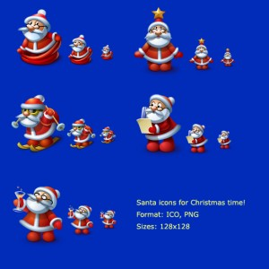 Santa_icons