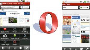 descargar opera mini para android 2.2
