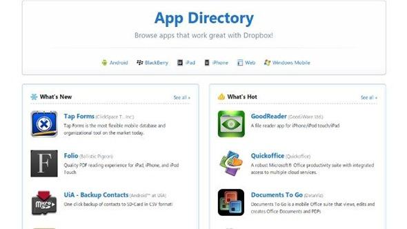 dropbox-aplicaciones